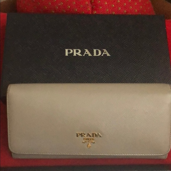 8ca36426ef4ac6 Prada Bags | Saffiano Continental Wallet | Poshmark